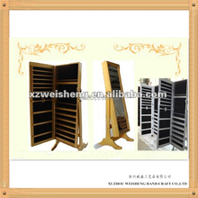 Wooden Jewellery Cabinet Dressing Mirror