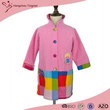 100% Polyester Low Price OEM Kids Bathrobes/Wholesale Factory Child Bathrobe