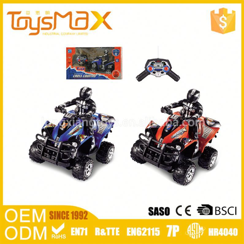 New Design 4Channel Ruggedness Eco-Friendly 1:10 4Ch Scrambling Rc Motorcycle