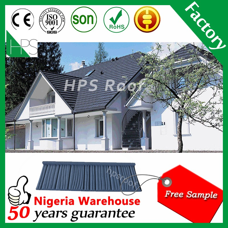 Economically Roof Sheet Flat Stone Coated Roofing Shake colorful stone chip Metal Roof tile