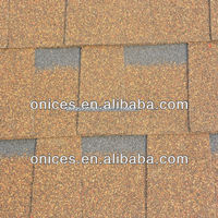 Laminated Desert tan asphalt shingle