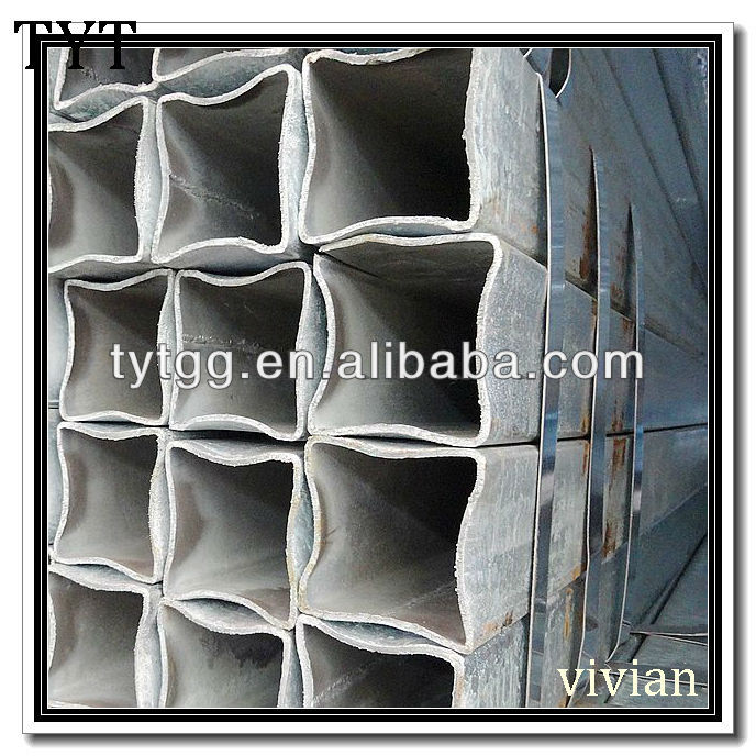 carbon steel square heavy hot dip galvanized gi pipe