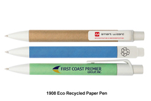 Eco Recycled Paper Pen