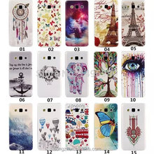 NEW Soft Silicon TPU Back Cover Case For Samsung Galay A5 A3 A7 A9 A5000 Horse Deer Tower Skull Rose Skull Girl Supperman