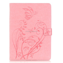 Delicate accessary tablet case high quality soft leather PU case shell for iPad Air, for iPad 5