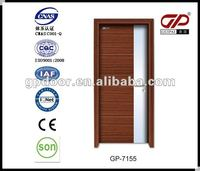 beautiful design solid door with two colors