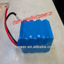 4s3p 12v 7.5ah with bms motorcycle start battery A123 lifepo4 battery packs