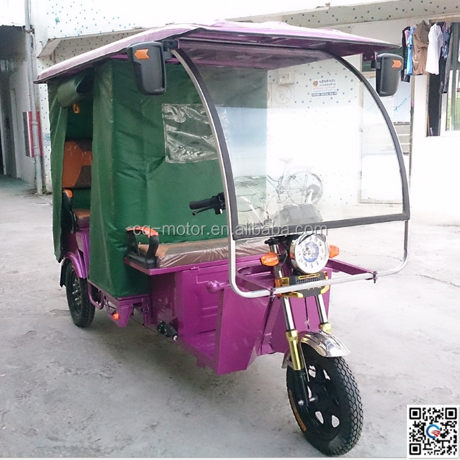 Electric Driving Type and Passenger Use For elder electric tricycle folding