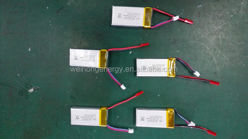 Rechargeable 7.4v 1200mah lipo battery 803060P 20C, 30C applied in radio control helicopters and quadcopters, RC toys, UFO