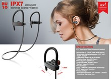 New Design Sport 4.1 Super Mini & Micro Bluetooth Earphone In-ear Wireless Bluetooth Stereo Earphone RU10