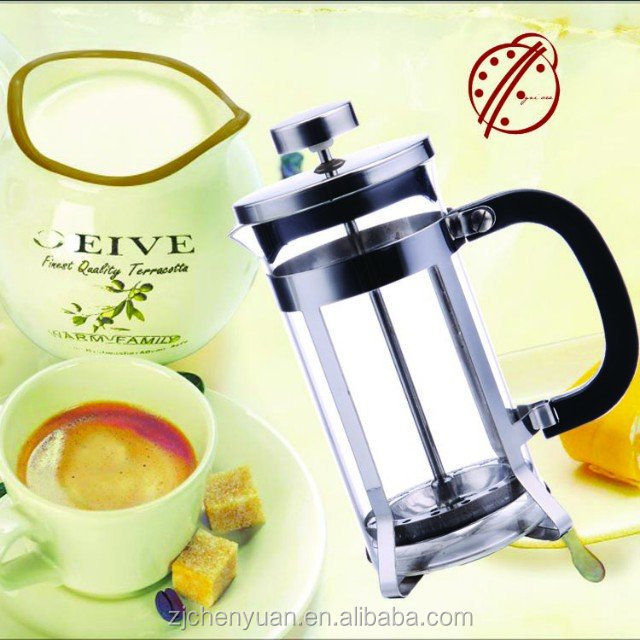OgniOra French Press Gift Set, Heat-resistant Glass& SS plunger Coffee and Tea Maker
