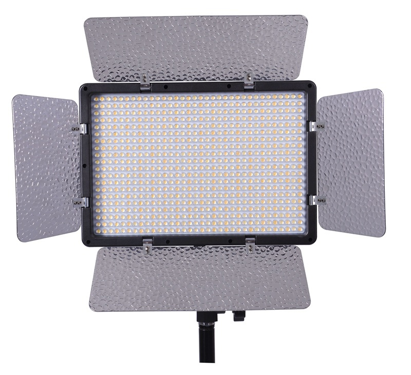 680pcs bulbs bi-color led video lights with touch screen