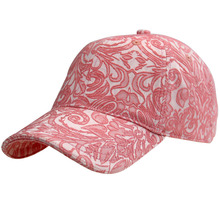 High Quality Six Panels Girls Full Cotton Baseball Hats