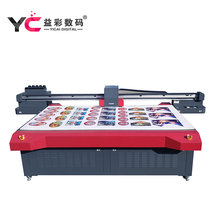Professional CMYK digital color metal photo printing machine large format UV printer