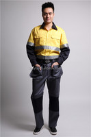 Military style cargo pants workwear trousers