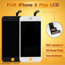 High Quality Tested Touch Screen Digitizer+ LCD Display Replacement For iPhone 6 5.5 inch Free Shipping