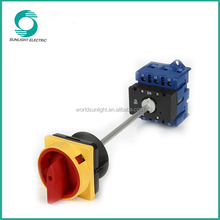 RoHS approval LW30 series with door inter-lock function 20A 25A 32A 40A 63A 80A 100A 440V selector switch