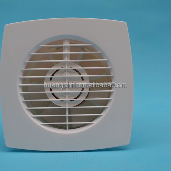 Non-Noise Ultra-Thin Bathroom Use Window Mounted Extractor Ventilating Fan With Complete Size Range