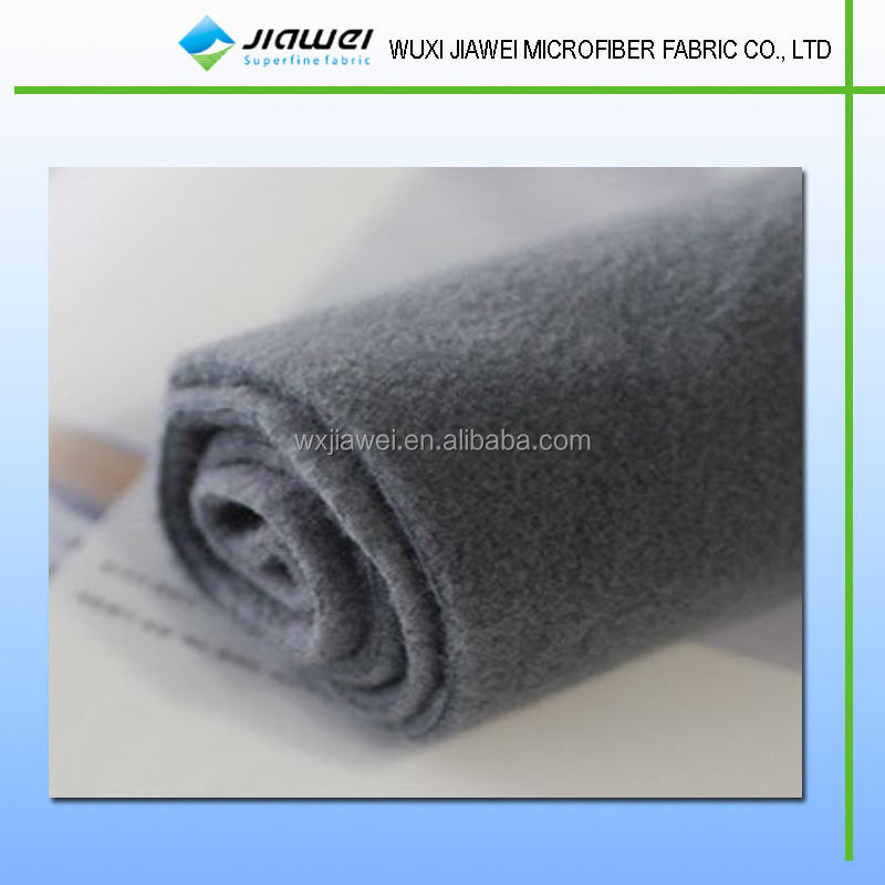 Microfibre double face fleece cleaning cloth