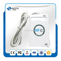 acr122 nfc contactless smart card reader/writer pc/sc compliant support iso14443a/b/iso18092 nfc tag