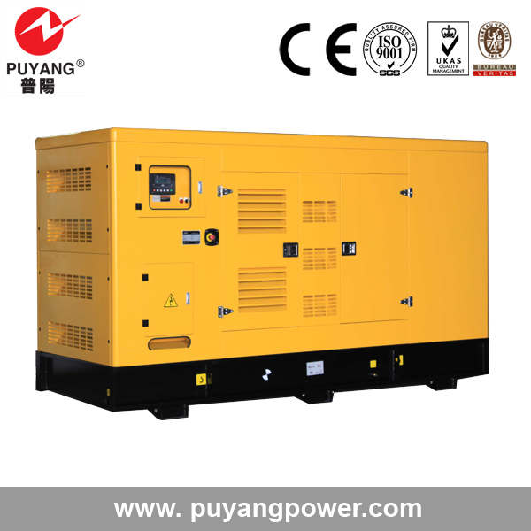 Soundproof type low price China super silent generator diesel 120kw