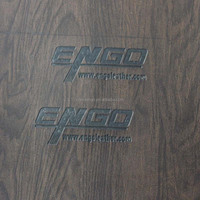 eco friendly wood pattern pu covering materials for jewelry