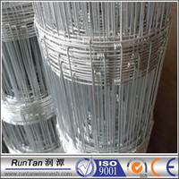 China manufacturer galvanized field farm fence