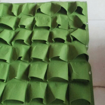 color full 100% pure polyester needled non woven felt plant bags