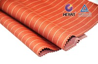 stripe orange lycra spandex print fabric