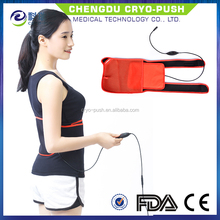 Electric far infrared heat pad for back pain relief