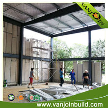 Labor Cost Saving Prefabricated High Commercial Building