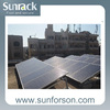 Flat Roof Triangular Solar Panel Mounting System