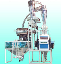 2017 hot sale domestic flour mill with small capacity With Long-term Service