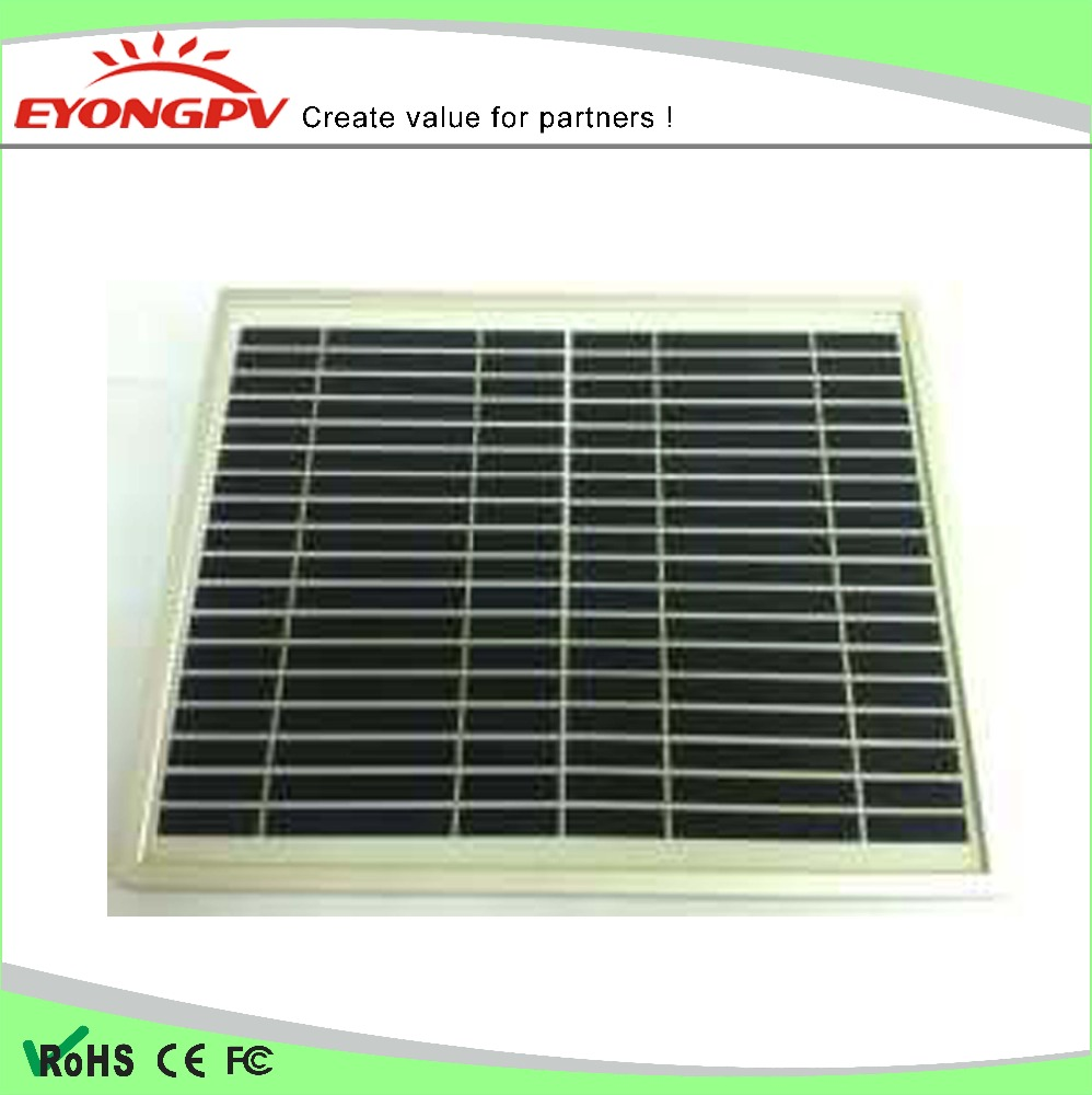 Mono portable 10W 12v Solar Panel with High Effiency 50*20cm