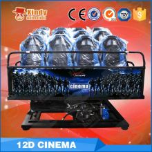 Hot Sale Amusement pocket cinema projector electronic system 4d cinema equipment