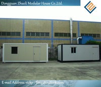 luxury design container house with affordable price