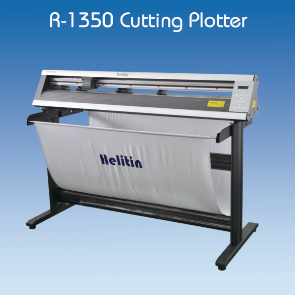 1350 mm cutting plotter/servo motor cutter plotter with automatic contour function