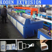 extrusion machine pvc flooring production line