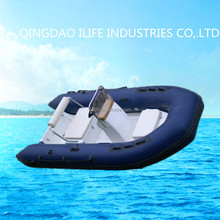 2017 New model inflatable boats fiberglass rib boat consoles