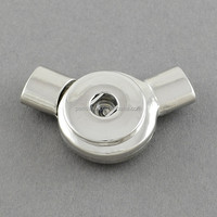 Snap Button Magnetic Clasps for Bracelet Making Fit 4x6mm Shank Snap(KK-S088)