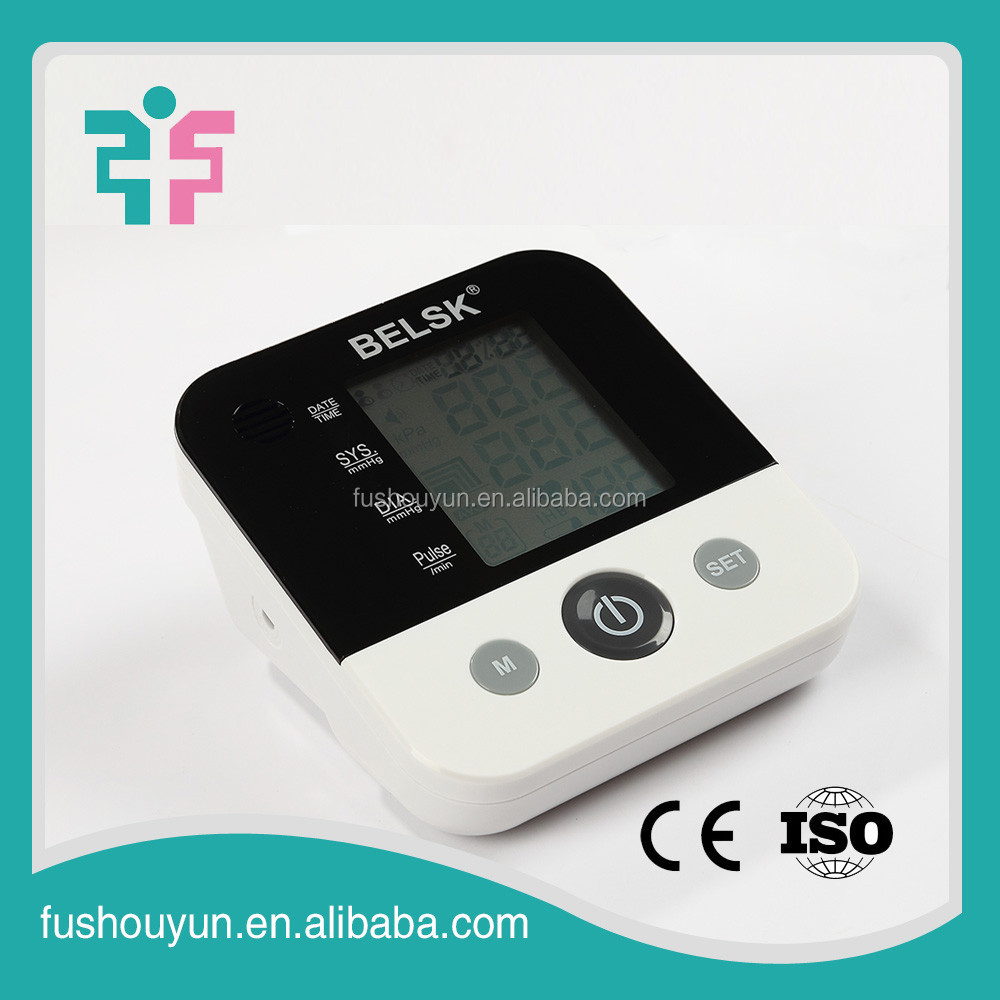 daily home health care upper arm digital blood pressure measuring instrument for family