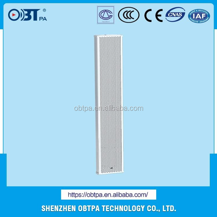 OBT-760 High Powe Outdoor Public Address Background Music System Long Throw PA Column Speaker