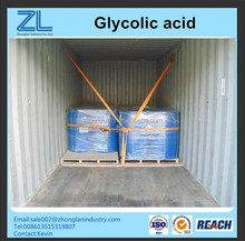Glycolic acid boiler cleaning