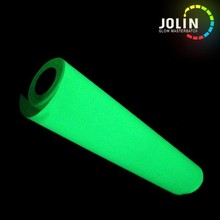 hot and colorful glow in the dark luminescent stickers for cap