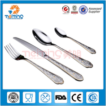 children stainless steel flatware cutlery set