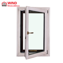 Aluminum Wood Door Tilt And Turn Window