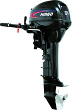 Hidea High Quality Popular 2stroke 18hp Outboard Motor manual control short shaft motor