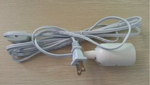 UL approved Lamp Power Cord, America Type Switch Power Cord