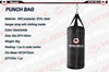 High quality 6kg black boxing punch bag,polyester sports gym kick fight boxing punching bag