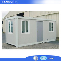 Waterproof 20/40feet modular container house, multipurpose container house, prefabricated container